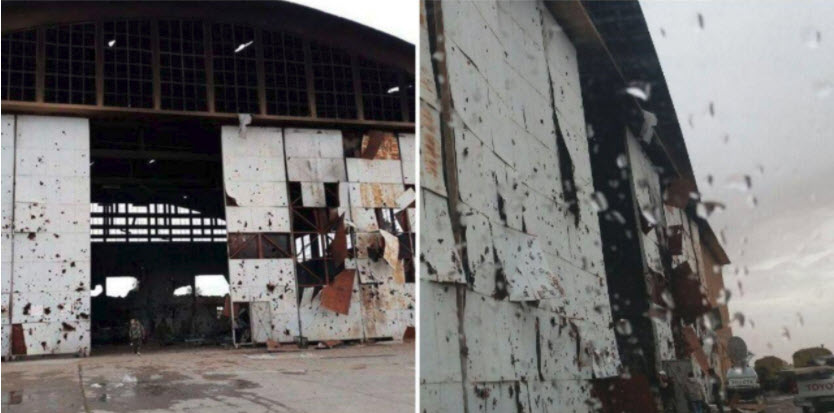b1b1ed497 اولین تصاویر از محل کشته شدن نیروهای سپاه در فرودگاه «T۴» سوریه توسط اسرائیل