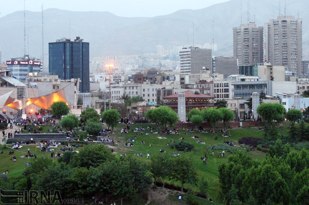 عکس طبیعت تهران