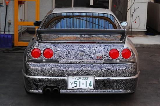 نقاشی ماشین های ایرانی