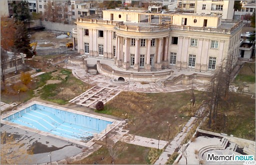«کاخ ورسای ایران» تخریب می شود!