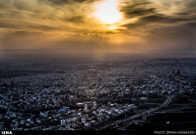 عکس / تصاویر هوایی از تهران