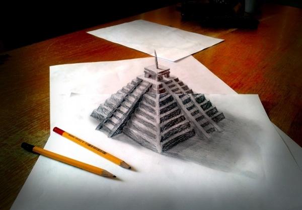 نقاشی طبیعت بی جان با مداد سیاه
