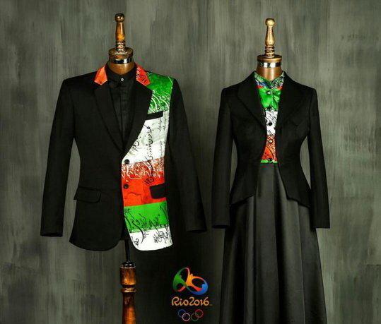 لباس رژه المپیک