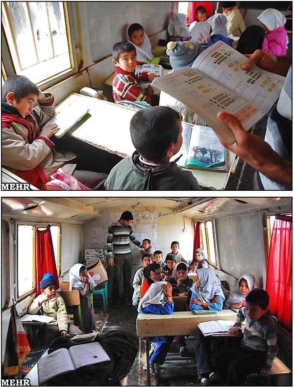 تراکتور کلاس مدرسه ی اتوبوسی دولت عدالت محور در قرن 21 ... !